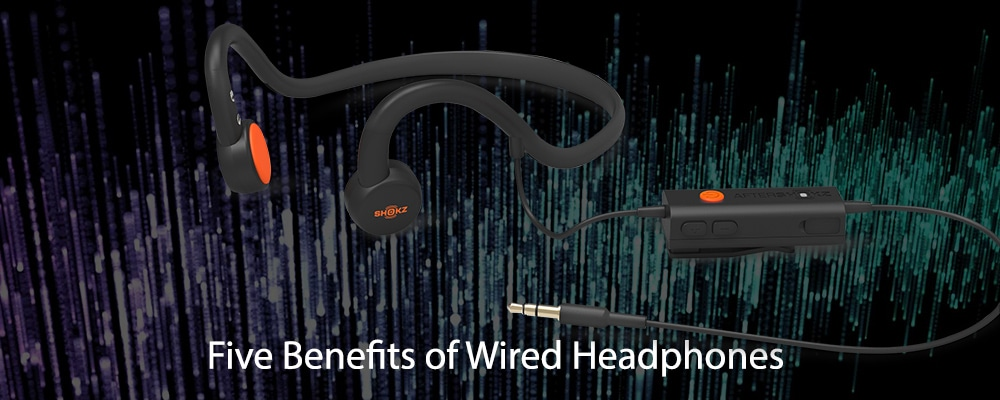 Five Benefits of Wired Headphones